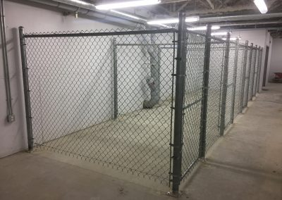 interior partition chain link