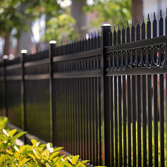 ornamental metal fencing