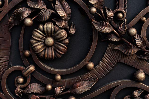 stylish ornamental fence